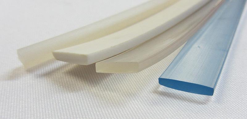 Ленты силиконовые и ПВХ